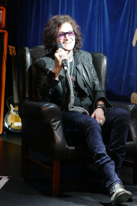 Glenn Hughes - In Conversation Event photo by Dawn Osborne 1