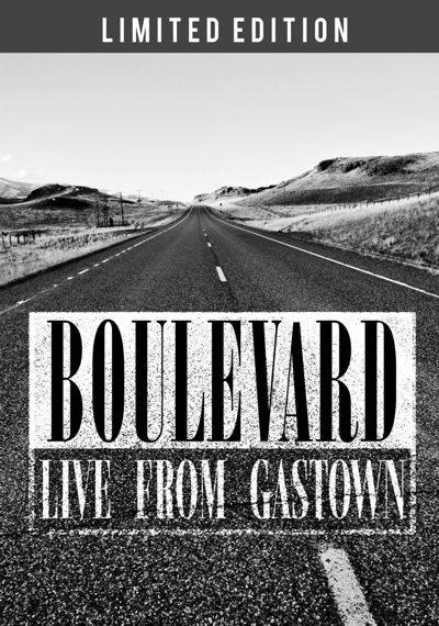 Boulevard Live-From-Gastown DVD-Cover